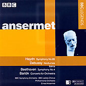 Haydn, Debussy, Beethoven, et al / Ansermet