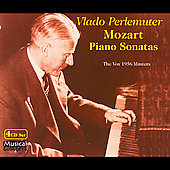 The Vox 1956 Masters - Mozart: Piano Sonatas/  Perlemuter
