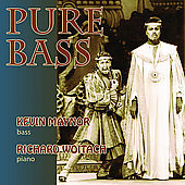 Pure Bass - Mozart, Wagner, etc: Opera Arias / Maynor
