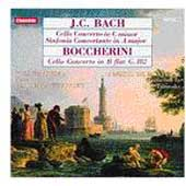 JC Bach, Boccherini: Cello Concertos, etc / Yuli Turovsky