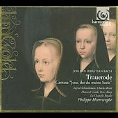 Bach: Trauerode BWV 198, Cantate BWV 78 / Herreweghe  et al