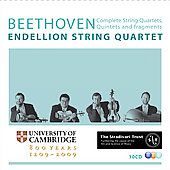 Beethoven: Complete String Quartets, Quintets & Fragments / Endellion Quartet