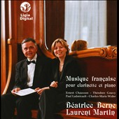 Musique Fran&ccedil;aise pour Clarinette et Piano