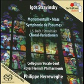 Stravinsky: Monumentum; Mass; Symphony of Psalms