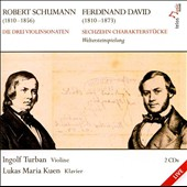 Schumann, David: Works for Violin & Piano / Turban