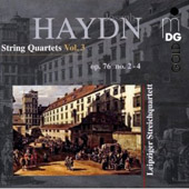 Haydn: String Quartets, Vol. 3, Op. 76/2-4 / Leipzig Quartet