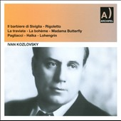 Ivan Kozlovsky / Recital No. 1