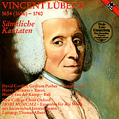 L&#252;beck: Cantatas / Thomas Albert, Fiori Musicali