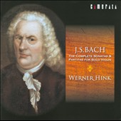 J.S Bach: The Complete Sonatas & Partitas for Solo Violin