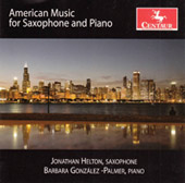 American Music for Saxophone and Piano / Helton and Palmer