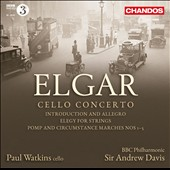 Elgar: Cello Concerto; Elegy for Strings, et al. / Paul Watkins, cello