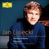 Mozart: Piano Concertos nos 20 & 21 / Jan Lisiecki, piano; Zacharias
