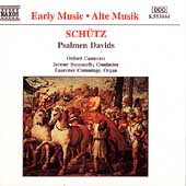 Schütz: Psalmen Davids / Summerly, Cummings, Oxford Camerata