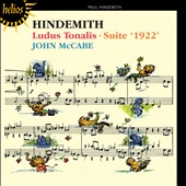 Hindemith: Ludus Tonalis; Suite '1922' / John McCabe, piano