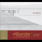Brahms: String Quintets nos 1 & 2; String Sextets nos 1 & 2 / Toby Appel, viola; David Requiro, cello