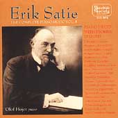 Satie: Complete Piano Music Vol 5 / Olof Hojer