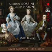 Rossini and Haydn: Duets for two Cellos / David Geringas and Emil Klein, cellos