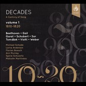 Decades, A Century Of Song, Vol. 1: 1810-1820