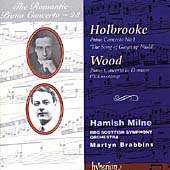 The Romantic Piano Concerto Vol 23 - Holbrooke, Wood