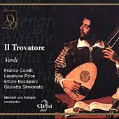Verdi: Il Trovatore / Karajan, Corelli, Price, et al