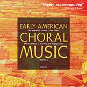 Classical Express - Early American Choral Music Vol 1