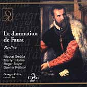 Berlioz: La Damnation de Faust / Pr&ecirc;tre, Horne, Gedda, et al