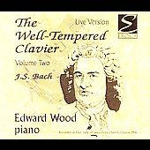 Bach: Well-Tempered Clavier Vol 2 / Edward Wood