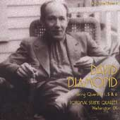 Diamond: String Quartets no 1, 5 & 6 /Potomac String Quartet