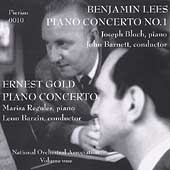 Lees, Gold: Piano Concertos / National Orchestra Association