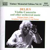 Tintner Memorial Edition Vol 10 - Delius