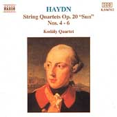 Haydn: String Quartets Op 20 