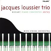 Jacques Loussier/Jacques Loussier Trio: Mozart: Piano Concertos 20/33 with String Orchestra