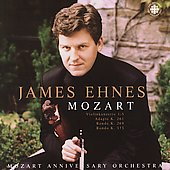 Mozart: Violin Concertos 1-5 / James Ehnes