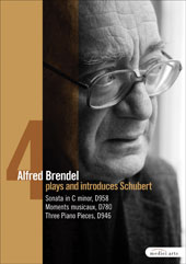 Alfred Brendel Plays Schubert Vol. 4 / Sonata D958, Moments D780, Pieces D946 [DVD]