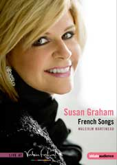 Susan Graham Live at Verbier: French Songs / Malcom Martineau [DVD]