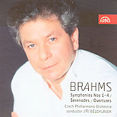 Brahms: Symphonies, Serenades, etc / Belohl&aacute;vek, Czech PO