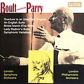 Boult conducts Parry - An English Suite, Bridal March, etc