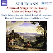 Schumann: Album of Songs for the Young, etc / Rubens, et al
