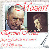 Mozart: Piano Sonatas, Fantasy in C minor / Eyvind Moller