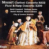 Mozart: Clarinet Concerto, Flute & Harp Concerto / Hickox