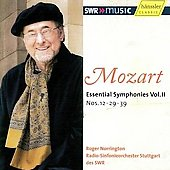 MOzart: Essential Symphonies Vol 2 / Norrington