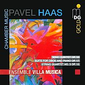Pavel Haas: Wind Quintet Op. 10; Suite / Ensemble Villa Musica