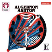 Algernon Ashton: Complete Piano Sonatas, Vol. 1