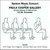 Spoken Music Concert at Paula Cooper Gallery