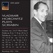 Vladimir Horowitz Plays Scriabin