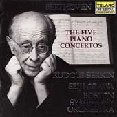 Classics - Beethoven: The 5 Piano Concertos / Serkin, et al
