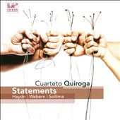 Statements: Haydn, Webern & Sollima / Cuarteto Quiroga