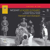Mozart: The Marriage of Figaro / Tomawa-Sintow; Cotrubas, Van Dam, Karause - Karajan (Vienna 1977)