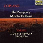 Classics - Copland: Third Symphony, etc / Levi, Atlanta SO