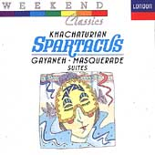 Khachaturian: Spartacus, Gayaneh & Masquerade Suites / Black